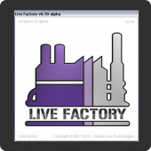 Live Factory - about box