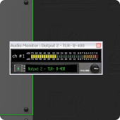 Rack Performer - audio monitoring engaged