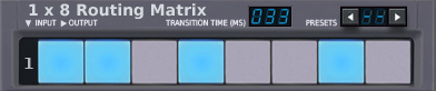 1x8 Matrix Router