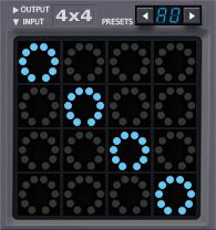 4x4 Matrix Mixer
