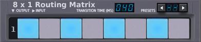 8x1 Matrix Router