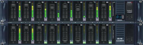 Octo-Channel Clock-Free Master Module