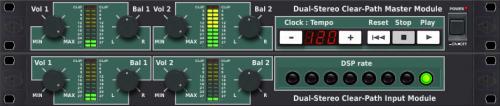 Dual-Stereo Clear-Path Master Module