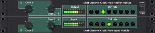 Dual-Channel Clock-Free Master Module